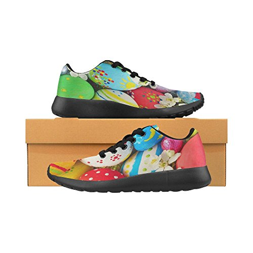 Interestprint Femmes Jogging Running Sneaker Léger Aller Facile Marche Confort Décontracté Sport Chaussures De Course Multi 4