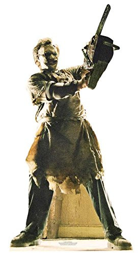 Leatherface Lifesize Standup Cardboard Cutouts 77 x 33in