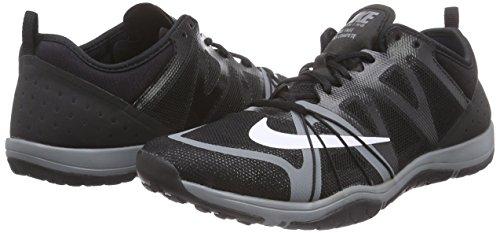Mujer Cross Grey Gimnasia cool De black White Negro Nike Compete Zapatillas Free xAgwYYqZ
