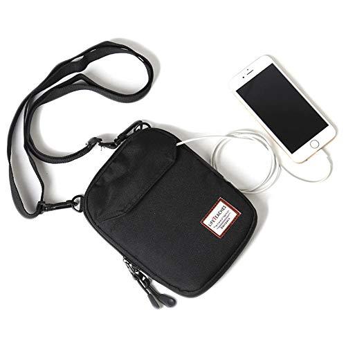(Small/mini over the shoulder bag travel passport for men, Crossbody bags for Women & men, small messenger Travel Wallet)