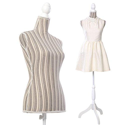 Kseven New Premium Female Women Mannequin Torso Body Dres...