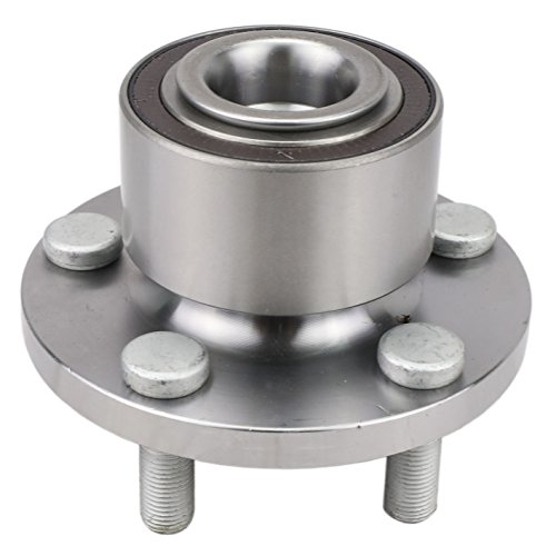 CRS NT590443 New Wheel Bearing Hub Assembly, Front Driver (Left) Side/Passenger (Right), for 2008-2015 Land Rover (Land Rover Bearing)