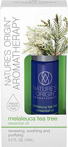 - Nature's OriginTM Aromatherapy Melaleuca Tea Tree Essential Oil, 15 ml