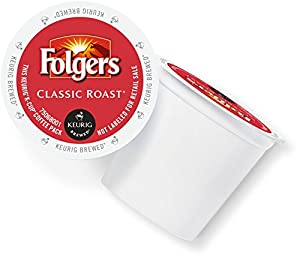 Folgers Gourmet Selections Coffee, Portion Pack for Keurig Brewers
