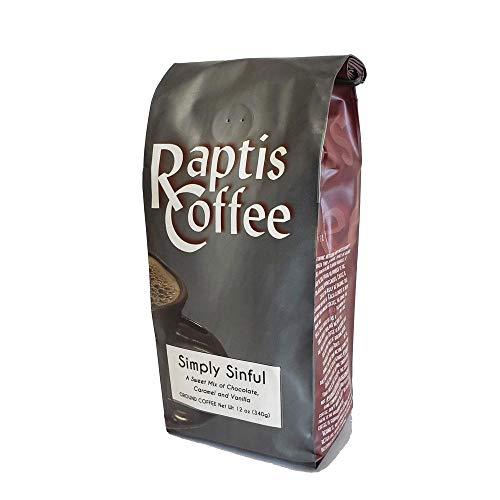 Raptis Coffee Roasters Simply Sinful Ground Coffee 12oz bag