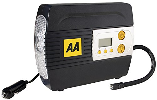 AA 12V Digital Tyre Inflator with Adapters