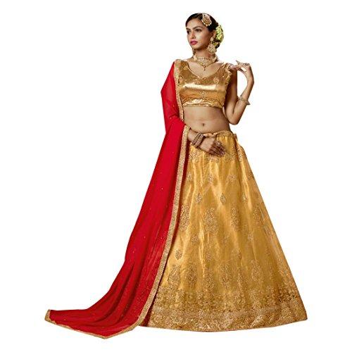 etnica EMPORIUM dupatta festa indiana sposa indossare seta abito personalizzato tradizionale Ethnic anarkali lehenga per nozze salwar da emproum ETNICO 2766 di donne seta kameez choli la misurare OUdxTO7