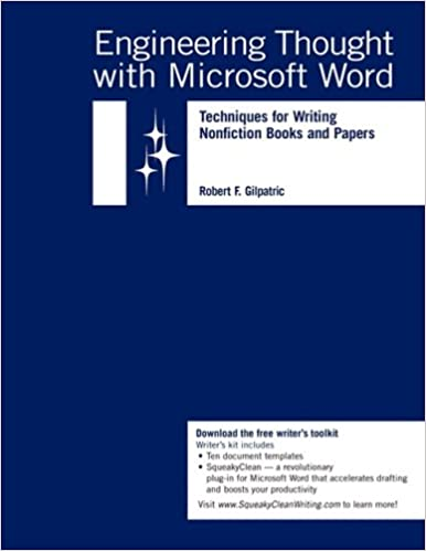engineering thought with microsoft word techniques for writing