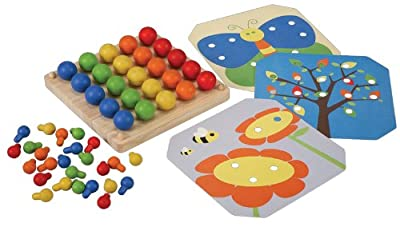 Plantoys Plan Preschool Creative Peg Boad Preschool by Plan Toys