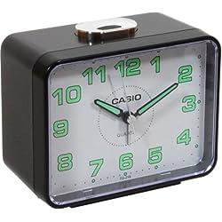 Casio #TQ218-1B Table Top Travel Alarm Clock