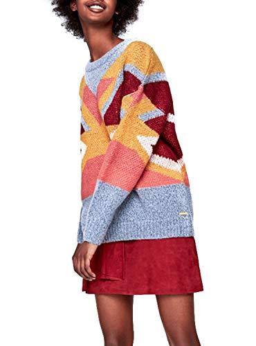 Maglia Donna Pepe Sabela Jeans Multicolore PL701378543 1Z5wO5q