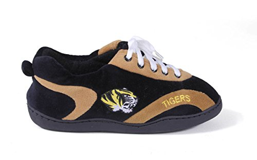 Happy Feet Menns Og Kvinners Ncaa College Hele Slippers Missouri Tigrene