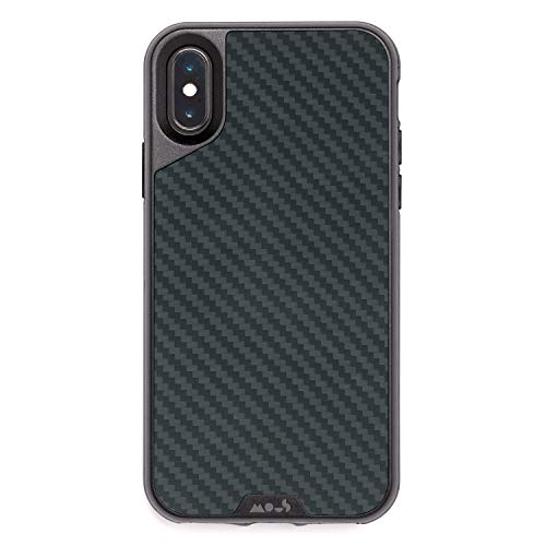 Mous Limitless 2.0 Aramid Carbon Fibre Case w/Screen Guard for iPhone X