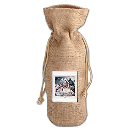 War Poster 1915 (Vintage) Jute Burlap Burlap Wine Drawstring Bag Wine Sack - 1915 Poster