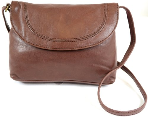 SNUGRUGS - Bolso al hombro de cuero para mujer marrón - Ox Brown
