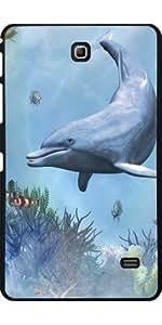 Funda para Samsung Galaxy Tab 4 (7 pulgadas) - Delfines Marino