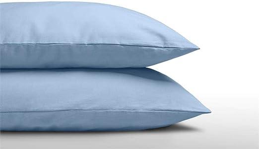 SLEEP TIME - Juego de 2 Fundas de Almohada (60 x 70 cm, 60 x 70 cm ...