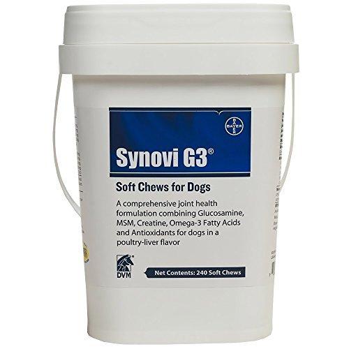 SynoviG3 SOFT CHEWS (240 Chews) by Synovi