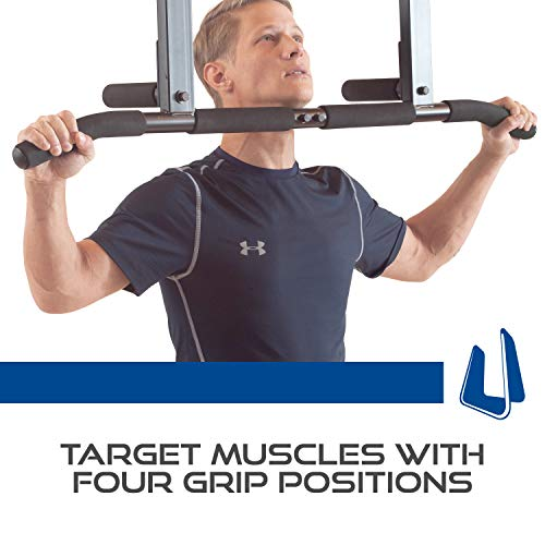 Ultimate Body Press Joist Mount Pull Up Bar + Ab Straps by Ultimate Body Press (Image #5)