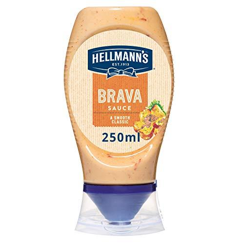 Hellmann's, Salsa Brava, Saus, Sluitingsdop aan onderkant, 250 ml