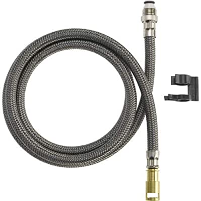 Delta RP44647 Replacement Hose Assembly with Mounting Clip,