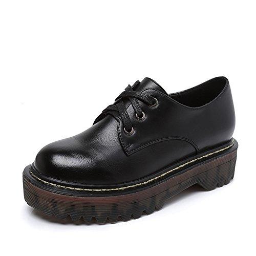 Damen Freizeitschuhe,Martin Schuhe tragen.,Rindfleisch Bottom Shoes A