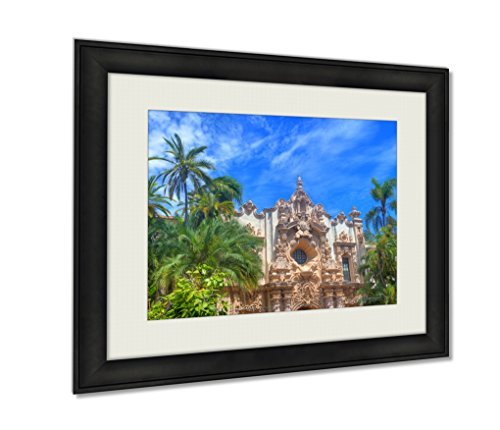 Ashley Framed Prints, Balboa Park San Diego, Wall Art Decor Giclee Photo Print In Black Wood Frame, Ready to hang, 16x20 Art, AG5597500