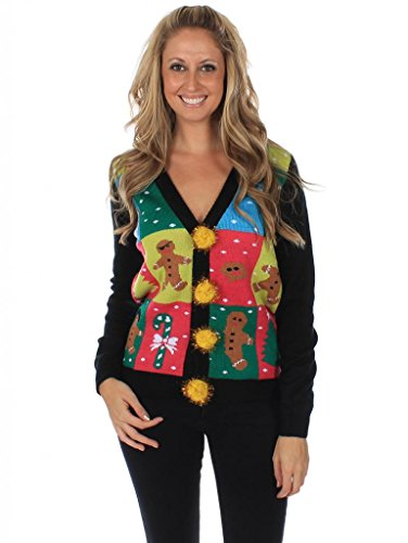 Panel Cardigan by Tipsy Elves