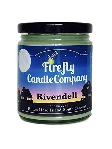 Rivendell Candle- Lord of the Rings 8oz (List Of Elves In Lord Of The Rings)