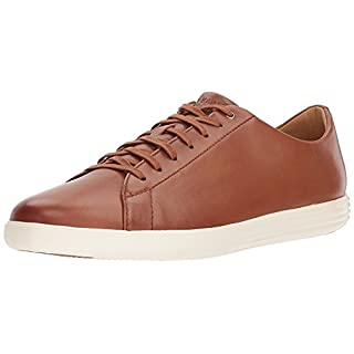Cole Haan Men's Grand Crosscourt II Sneaker, TAN LEATHER BURNSH, US 7W