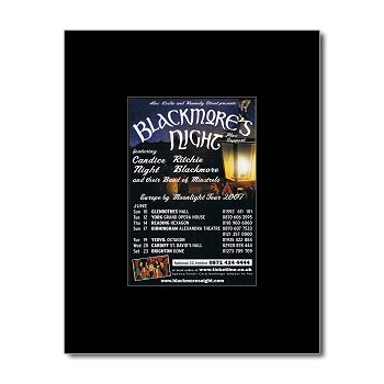 Blackmores Night - Escape by Moonlight Tour 2007 Mini Poster