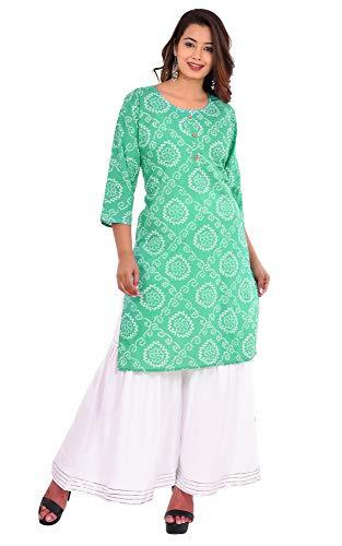 Women's Cotton Blend Shahara Salwar Set