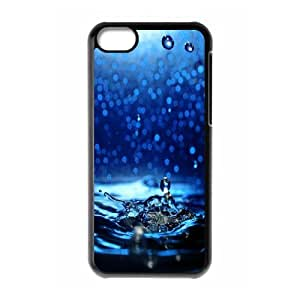 Iphone 5C Case, let it fall Case for Iphone 5C Black