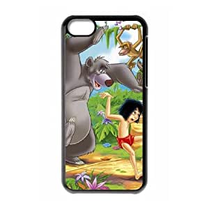 Jungle Book iPhone 5c Cell Phone Case Black as a gift W4492084