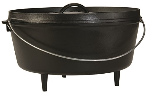 Lodge Camp 10Qt Dutch Oven 14 L14Dco3 Deep Oven 5 Depth
