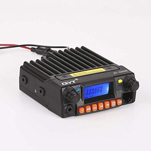 (QYT KT-8900R Tri-Band VHF:136-174MHz, 220-270MHz, UHF:400-480MHz Mobile Transceiver 25W Dual Watch Ham Radio w/Free Cable)