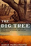 Front cover for the book The Dig Tree by Sarah Murgatroyd