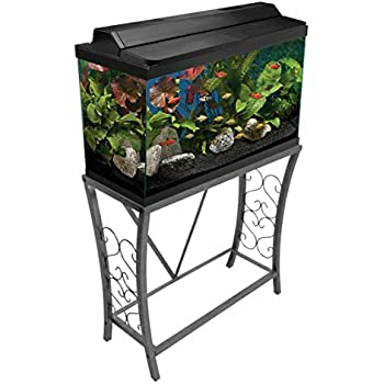 Amazon Com Petco Brooklyn 29 Gallon Metal Tank Stand 30 L X 12 5