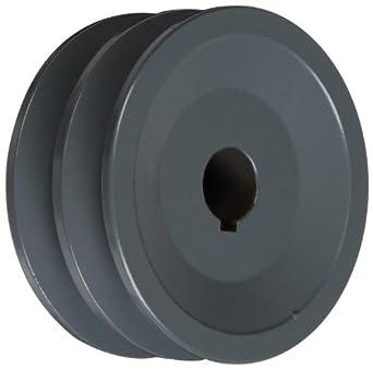 "TB Woods 2AK3058 FHP Bored-To-Size, 3.05"" Outside Body Diameter, 0.625"" Bore Diameter V-Belt Sheave"