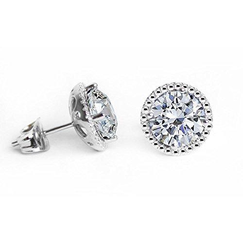 Glimmering Authentic Swarovski Crystals Birthstones Studs...