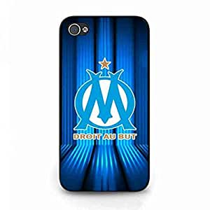 IPhone 4/IPhone 4S Funda,Olympique De Marseille Logo Phone Funda Cover,French Football Team Logo Phone Skin