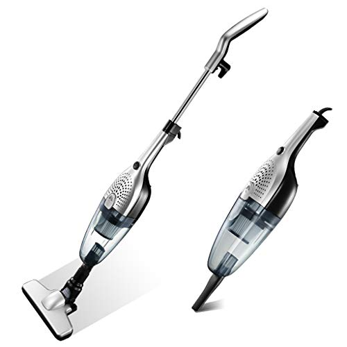Vacuum cleaner Aspirador Blanco de Mano Recargable 2 en 1, Aspirador sin Bolsa, Mini, inalámbrico, para Autos pequeños,...