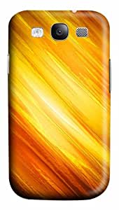 Fire PC Case Cover for Samsung Galaxy S3 I93003D