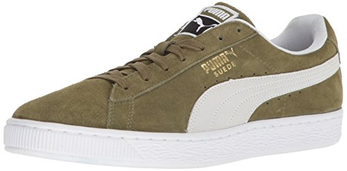 PUMA Suede Classic Sneaker, Capulet Olive White, 12 M US from PUMA