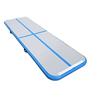 Amazon.com: blackpoolfa hinchable gimnasia Tumbling Mat de 3 ...