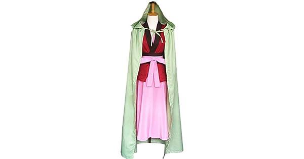 Amazon.com: cosnew Anime Yona traje + arete trajes uniforme ...