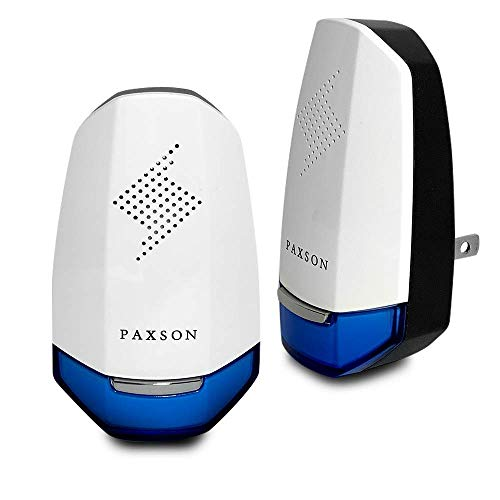 Paxson Premium Ultrasonic Pest Repeller Plug in Pest Reject (2 Pack) - Electric Pest Control to Repel Bed Bugs, Cockroach, Rat, Waterbug, Spider, Ant, and Flea (White & Blue) (Best Thing To Get Rid Of Flies)