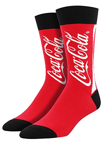 Coke Gift - Socksmith Mens' Novelty Crew Socks