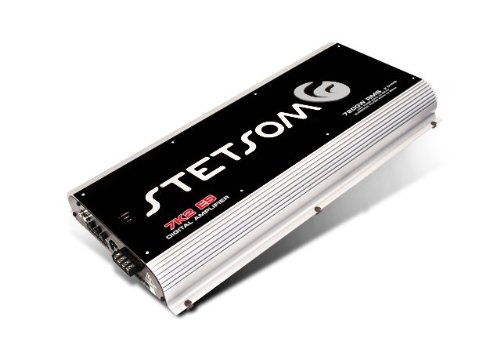 Stetsom 7K2ES1 7800-Watt Mono 1 Ohm Car Amplifier