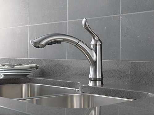 Delta Faucet 4353-AR-DST Linden Single Handle Water